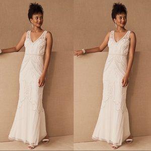 Anthropologie BHLDN Sorrento Wedding Dress